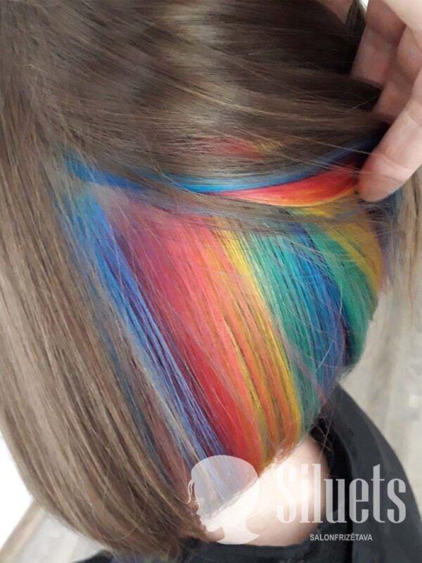 Paslepta matu krāsošana